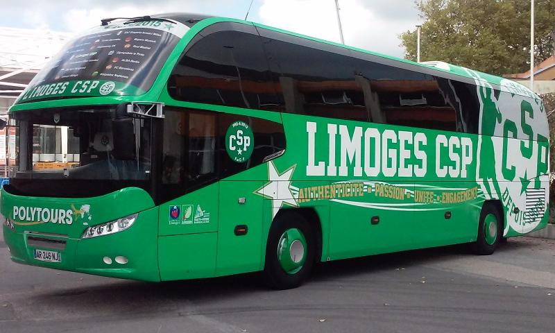 Bus polytours